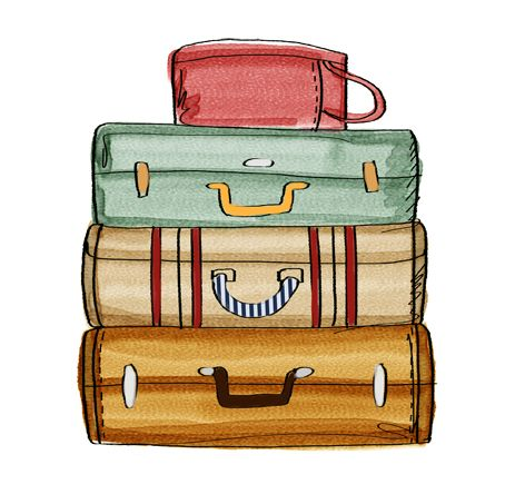 Suitcase clipart images vector download Image result for suitcase clipart | pictures em 2019 | Ilustração de ... vector download