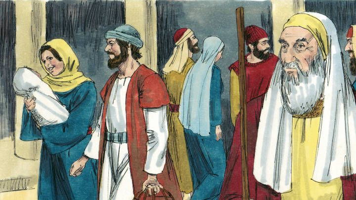 Luke 2 22-40 clipart clip freeuse This free Bible lesson is based on Luke 2:22-40 where Mary and ... clip freeuse