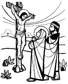 Luke 23 13-25 black and white clipart clipart freeuse download Lectio: Palm Sunday | THE WEBSITE OF THE CARMELITE ORDER ... clipart freeuse download