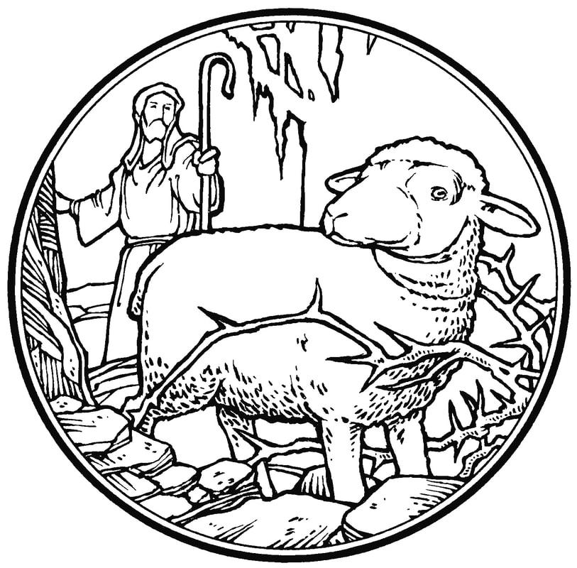 Luke 23 13-25 black and white clipart svg library Blog Posts - Good Shepherd L.C. svg library