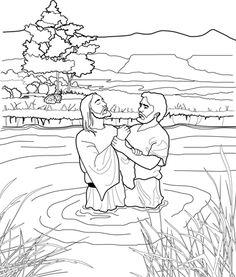 Luke 3 15-17 21-22 black & white clipart free stock 40 Best Jesus\' Baptism (Matthew 3:13-17 & Luke 3:1-22) images in ... free stock
