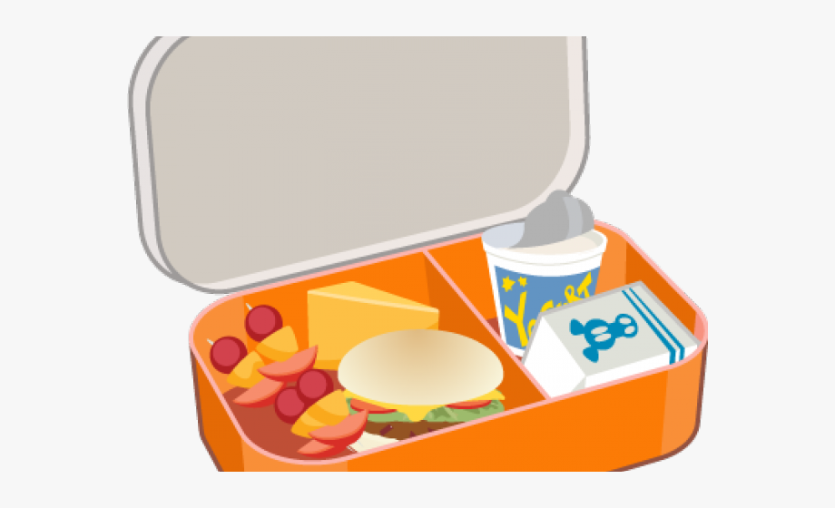 Lunch box clipart png black and white library Lunch Box Clipart Tupperware - Lunch Box Vector Png #486890 - Free ... black and white library