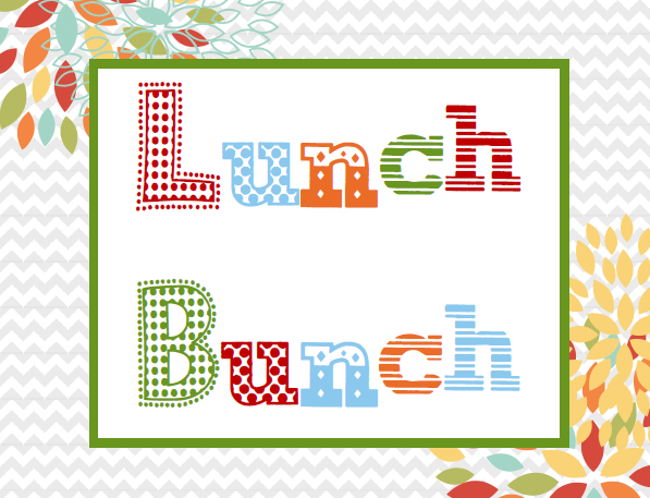 Lunch bunch clipart graphic royalty free library Lunch Bunch - Jacksonville Word of Faith graphic royalty free library