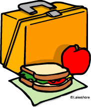 Lunch from home clipart