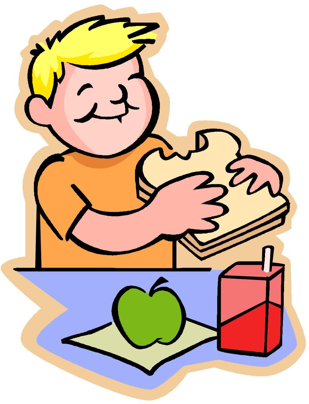 Lunch kindergarten clipart free stock Helathy lunch snowmen clipart - ClipartFest free stock