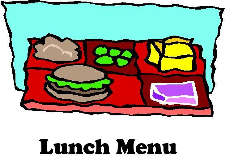 Lunch kindergarten clipart clip art stock Triopia CUSD 27 - Lunch Menu clip art stock
