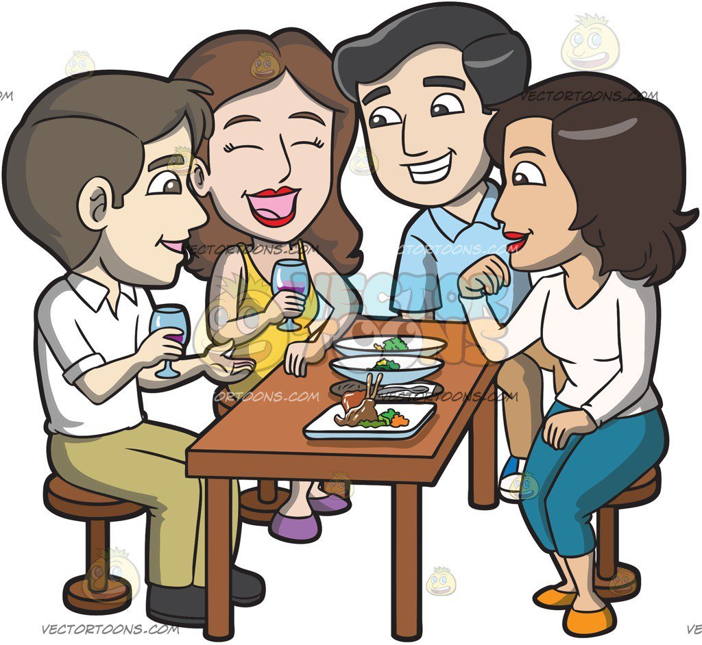 Lunch with friends clipart svg freeuse library Eating lunch with friends clipart 6 » Clipart Portal svg freeuse library