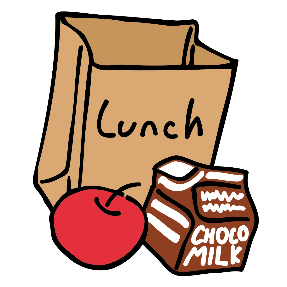 Time for lunch clipart clip art black and white download Lunch Time Clip Art   Clipart Panda - Free Clipart Images clip art black and white download