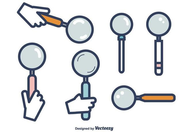 Lupa vector clipart clip Free Lupa Vector Free Vector Download 416065 | CannyPic clip