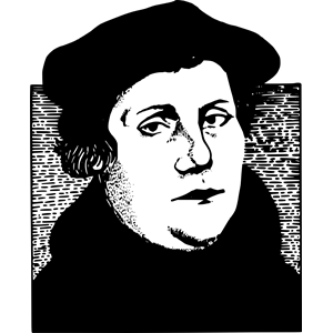 Luther clipart
