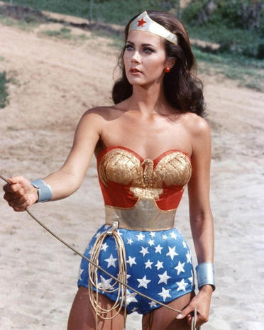 Lynda carter clipart clip art black and white download Lynda Carter - Wonder Woman through the years - Pictures - CBS News clip art black and white download