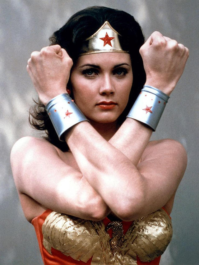 Lynda carter clipart transparent download Lynda Carter - Wonder Woman through the years - Pictures - CBS News transparent download