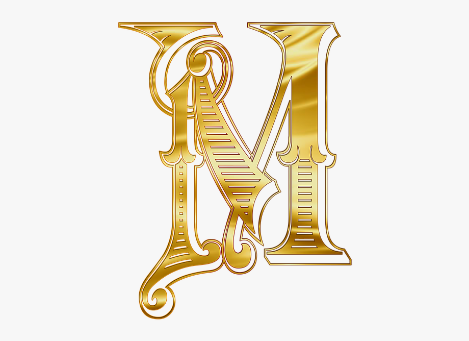 M word clipart jpg freeuse library M Letters Alphabet Russian Johndoe The Word Gold - Letter M Gold Png ... jpg freeuse library
