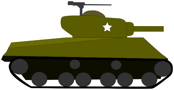M4 sherman clipart clipart black and white tank M4-Sherman - /weapons/tank/tank_M4-Sherman.png.html clipart black and white