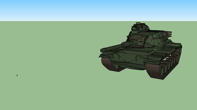 M60 patton tank clipart clipart stock M60 patton main battle tank | 3D Warehouse clipart stock