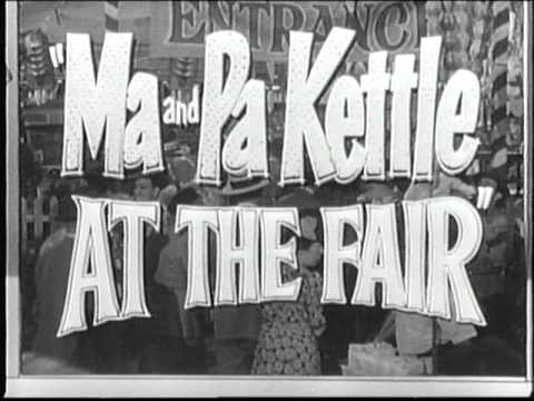 Ma and pa kettle go to town cartoon pic clipart graphic transparent library Opening to Ma and Pa Kettle At The Fair 1994 VHS graphic transparent library