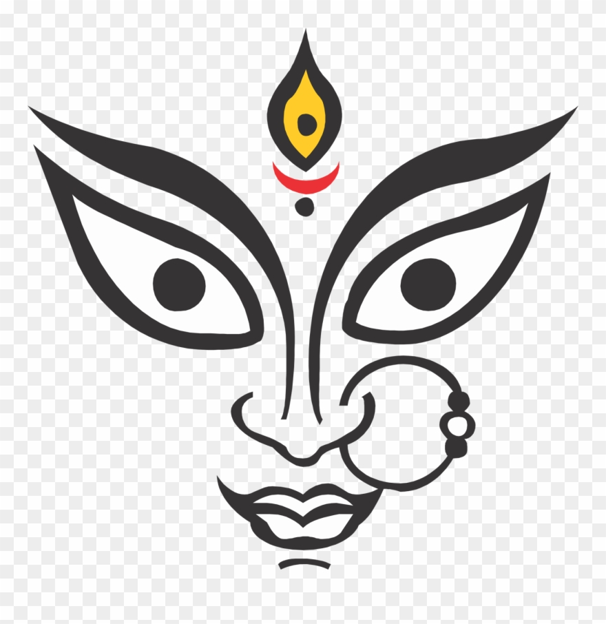 Maa durga clipart clipart library stock 10 Durga Maa Face Hd Images Free Download Clipart (#2638830 ... clipart library stock