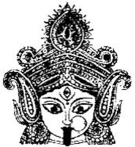 Maa kali face clipart jpg stock Kali face clipart 6 » Clipart Portal jpg stock
