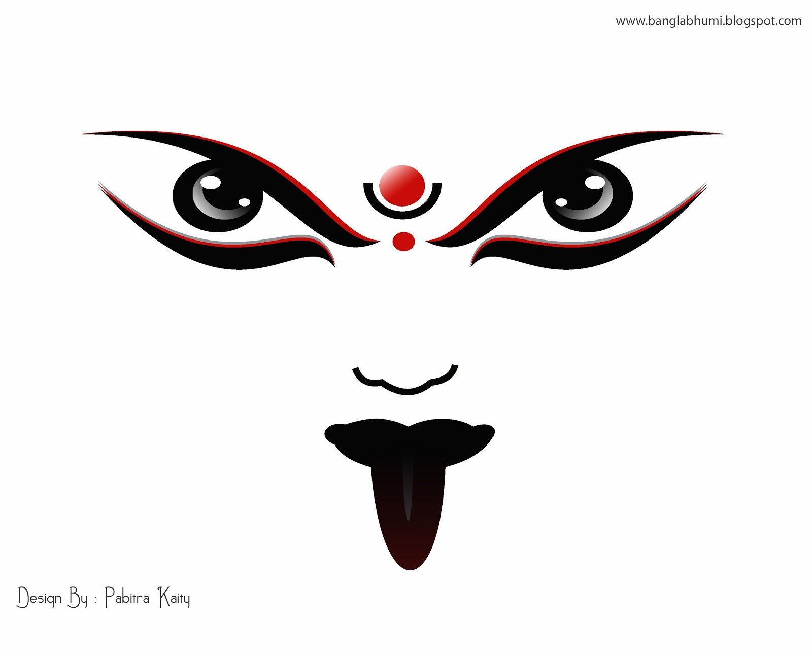 Maa kali face clipart clip stock The Other Side…Of A WOMAN… | FREE BIRD clip stock