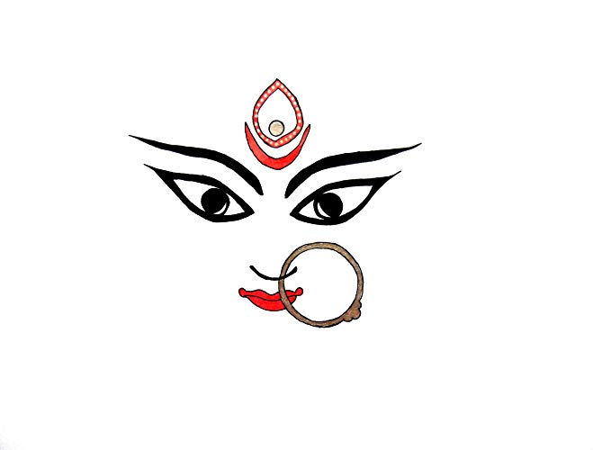 Maa kali face clipart svg download Amazon.com: Maa kali: Kruti Shah: Fine Art svg download