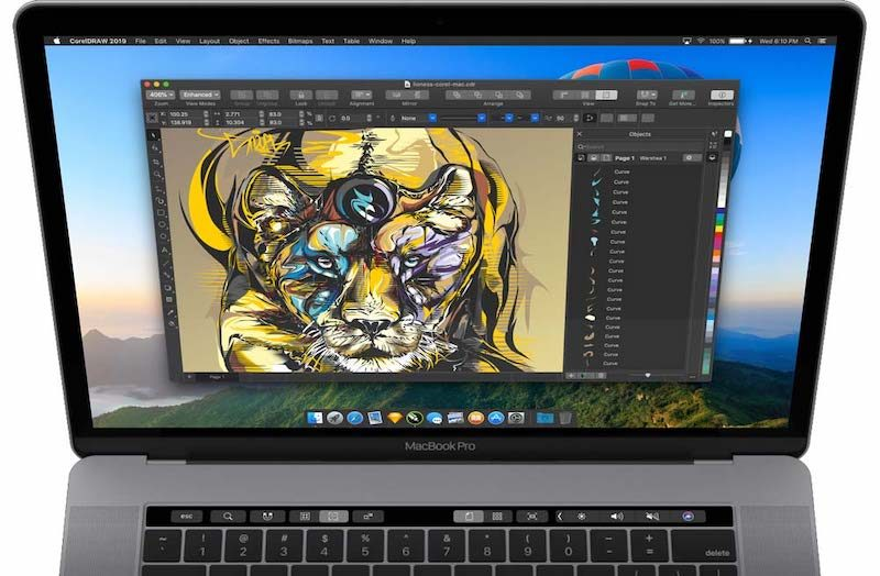 Mac book finder wont show cliparts vector freeuse CorelDRAW Returns to Mac After Nearly 20 Years With macOS Mojave ... vector freeuse