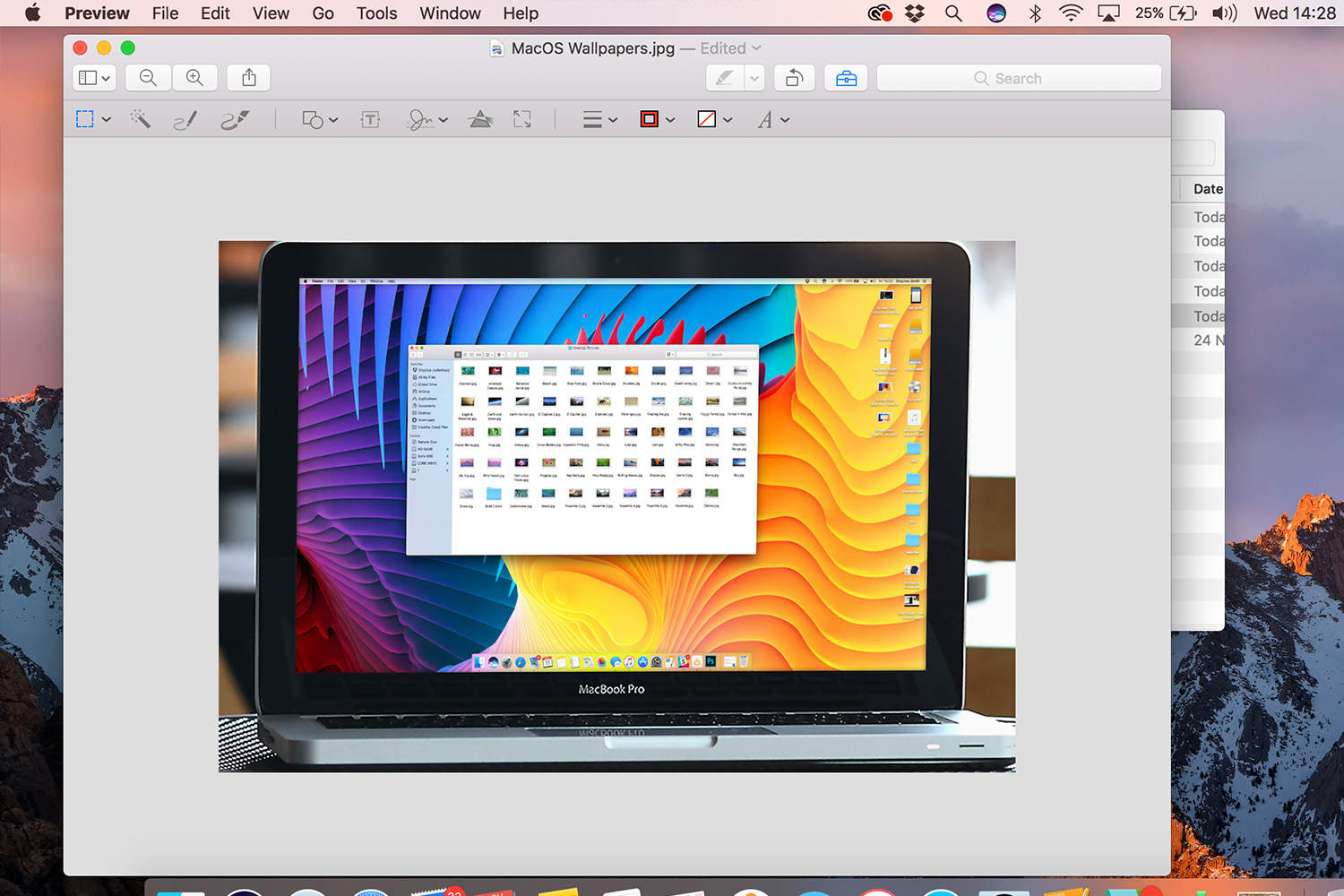 Mac book finder wont show cliparts png library library How to resize images using Apple\'s Preview tool in macOS png library library