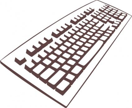 Mac computer keyboard clipart image black and white stock Mac Computer Clip Art | Clipart Panda - Free Clipart Images image black and white stock