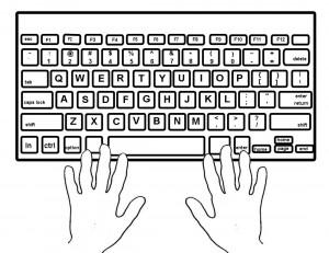 Mac computer keyboard clipart svg freeuse library Computer clipart for kids keyboard - ClipartFest svg freeuse library