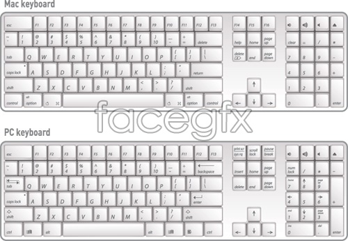 Mac computer keyboard clipart picture freeuse stock Mac keyboard clipart - ClipartFox picture freeuse stock