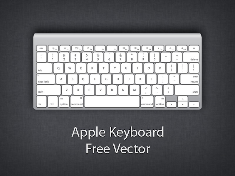 Mac computer keyboard clipart clipart freeuse stock Apple keyboard clipart - ClipartFest clipart freeuse stock