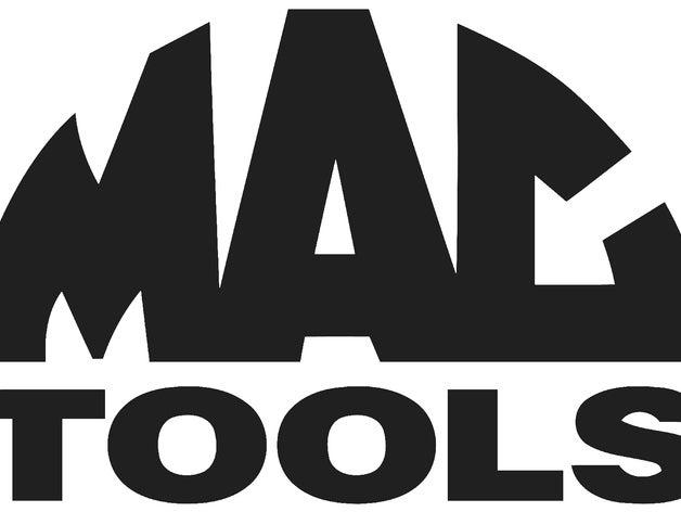 Mac tools logo clipart graphic MAC tools logo emblem by Plastic_Innovations - Thingiverse graphic