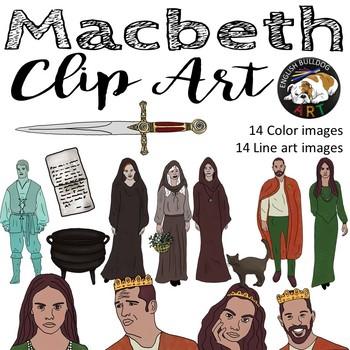 Macbeth clipart svg transparent Macbeth Clipart Worksheets & Teaching Resources | TpT svg transparent