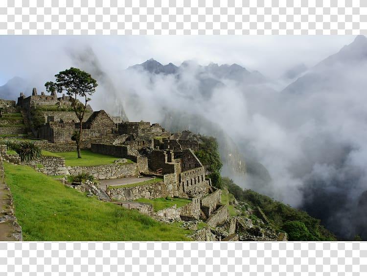 Machu picchu clipart vector black and white stock Inca Trail to Machu Picchu Aguas Calientes, Peru Cusco Ruins ... vector black and white stock