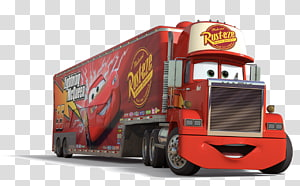 Mack truck clipart clipart free Lightning McQueen Mack Trucks Mack Super-Liner Cars, coches ... clipart free