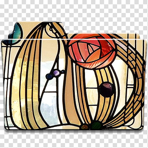 Mackintosh clipart free download Mackintosh Rose Stained Glass Folder Icons, Mackintosh Rose ... free download