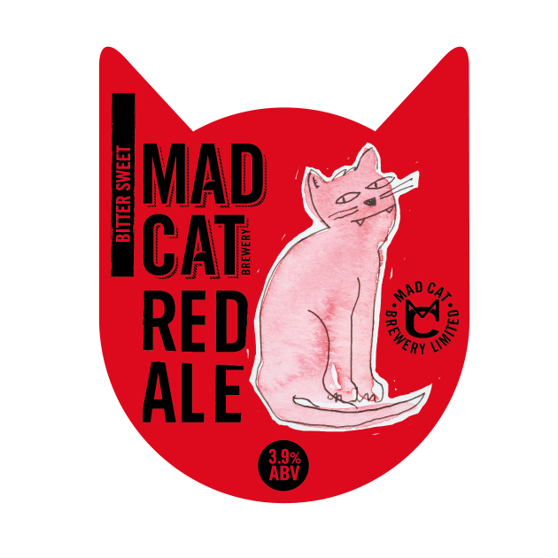Mad cat bath clipart image download Red Ale 3.9% - Mad Cat BreweryMad Cat Brewery image download