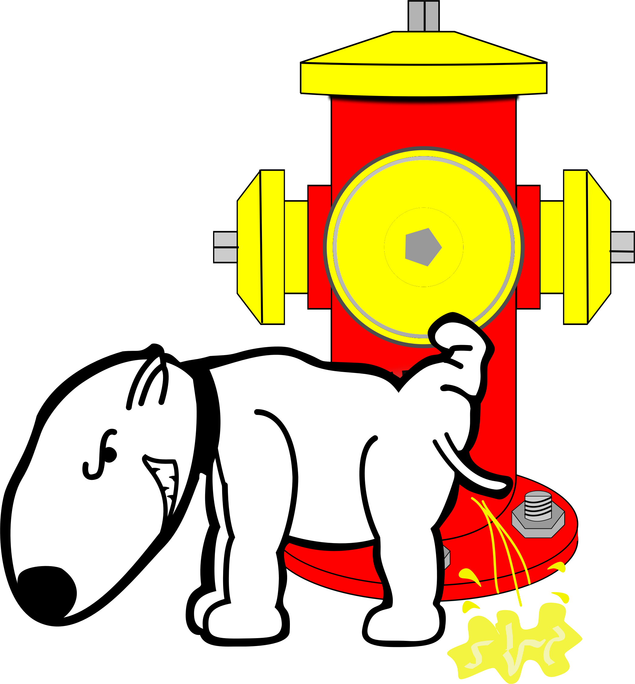 Hydrant dog clipart, explore pictures svg free