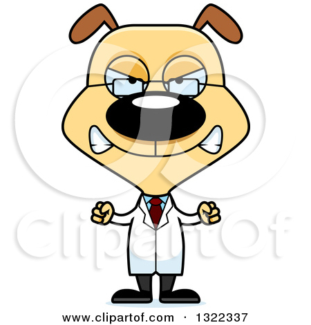 Mad dog clipart small clipart download Clipart of a Cartoon Mad Dog Scientist - Royalty Free Vector ... clipart download