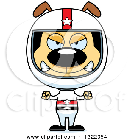 Mad dog clipart small download Clipart of a Cartoon Mad Dog Race Car Driver - Royalty Free Vector ... download