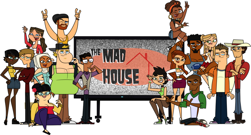 Mad house clipart svg free stock Group of mad people clipart collection svg free stock