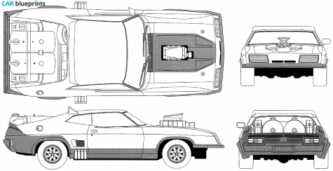 Mad max clipart free library CAR blueprints - Other Mad Max Interceptor II The Road Warrior ... free library