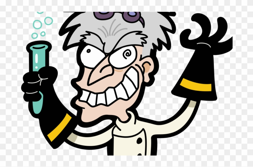 Mad scientist pictures clipart clip art black and white library Acne Teatment At Home - Mad Scientist Clipart (#3217411 ... clip art black and white library