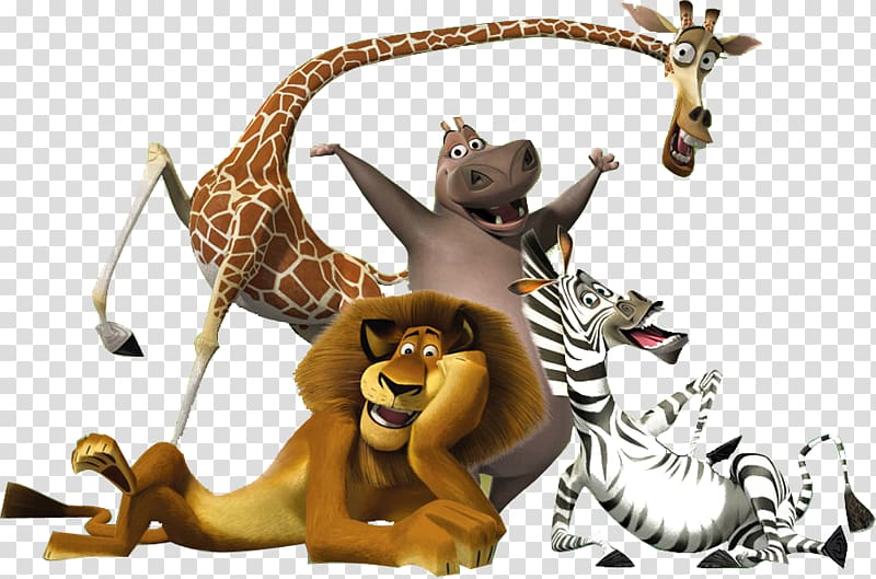Madagascar characters clipart svg stock Madagascar character , Madagascar Musical theatre DreamWorks ... svg stock