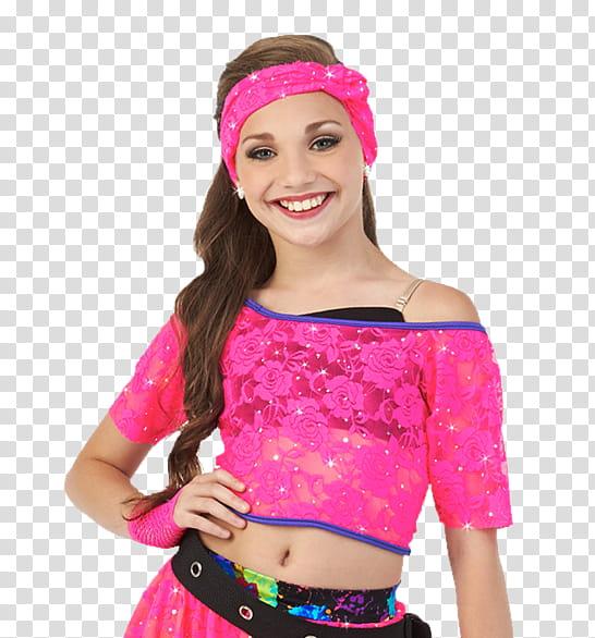 Maddie clipart svg stock Maddie Ziegler , women\'s pink top transparent background PNG ... svg stock