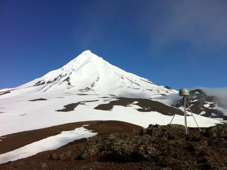 Made in alaska tilted license plate clipart clip art Volcano Monitoring with GPS: Westdahl Volcano Alaska clip art