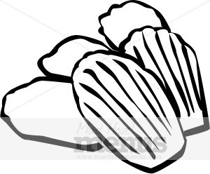 Madeleine clipart svg library stock Clipart madeleine » Clipart Portal svg library stock