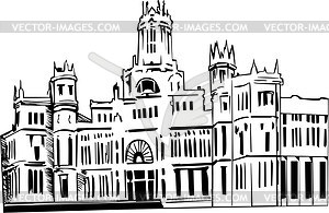 Madrid clipart clipart transparent library sights - vector clipart clipart transparent library