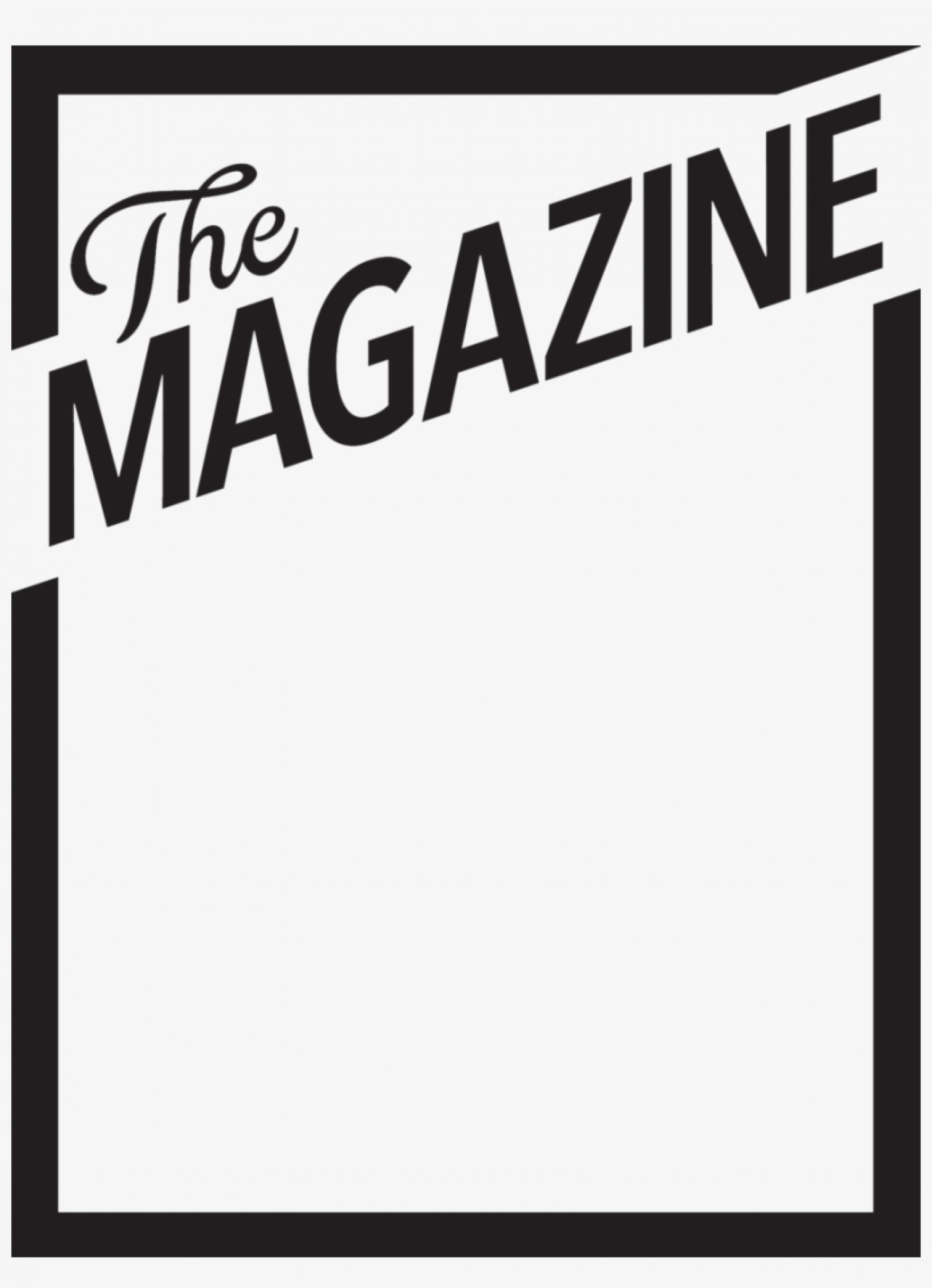 Magazine cover clipart clipart free 005 Template Ideas 1523373 Blank Magazine Cover Templates ... clipart free