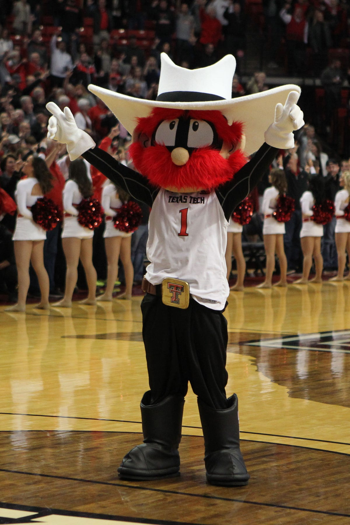 Mage ohio state basketball mascot clipart 1 vector freeuse library Final Four: Texas Tech players have no issue with \