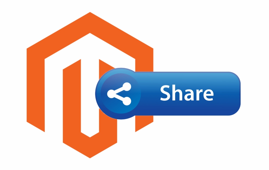 Magento icon clipart image free How To Add Share Button To Magento - Share This Icon Free ... image free